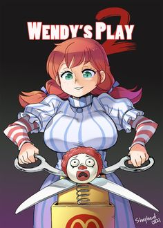 Wendy's play 2 by on DeviantArt Cartoon As Anime, Cartoon Art, Cartoon Characters, Manga Anime, Anime Art, Cartoon Girls, Wendy Anime, Wendys Girl, Character Art
