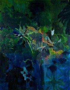 thunderstruck9:  Hurvin Anderson (British, b. 1965), Last House, 2013. Oil on linen. 210 x 162 cm