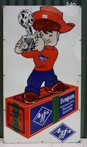 Vintage Agfa Sign
