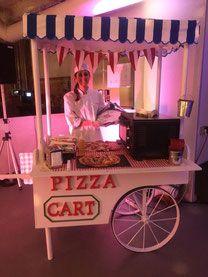 Carrito de Pizza para fiestas, Comuniones, Bautizos, Bodas, empresas ... - The Most Beautiful Site. Alquiler de Carritos de Palomitas y Algodón de azúcar