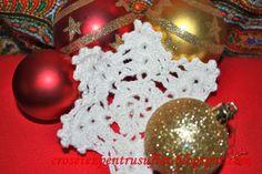 crochet snowflake  (diagram)