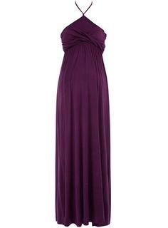 Dorothy Perkins  Maternity purple maxi dress $12