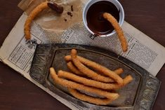 Delicious Churros Recipes Online is under construction Churros, Snack Recipes, Snacks, Sausage, Food And Drink, Sweets, Cookies, Meat, Vegetables