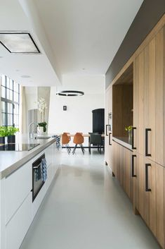 hygge home interiors Kitchen Room Design, Modern Kitchen Design, Kitchen Layout, Kitchen Decor, Kitchen Ideas, Kitchen Interior, Interior Design Living Room, Bungalow Conversion, Small Room Bedroom