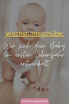 Wann stehen die Wachstumsschübe an?   Was kann mein Baby nach einem Wachstumsschub?   Warum will mein Baby nur getragen werden?   Wie kann ich meinem Baby helfen?   Wie lange dauert ein Wachstumsschub?   Wann kann mein Baby krabbeln?   laufen lernen   krabbeln lernen   Wann sitzen Babys?   Tipps für Eltern   Tipps & Tricks   Erfahrungen   #wachstumsschub #eltern #baby #kleinkind #krabbeln Tricks, Babys, Movie Posters, Movies, Inspiration, Family Life, Kids Wagon, Parenting, Parents