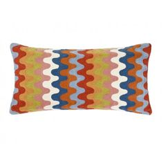 Wave #linenandmoore #cushion #winter