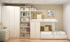 Make The Teenage Room Decor More Comfortable Teenage Room Decor, Space Saving Bedroom, Small Room Bedroom, Small Rooms, Bedroom Ideas, Teen Bedroom, Design Bedroom, Master Bedroom, Small Room Interior