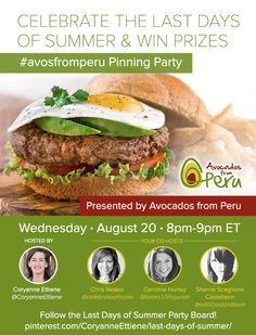 Avocados from Peru Pinterest Party #avosfromperu