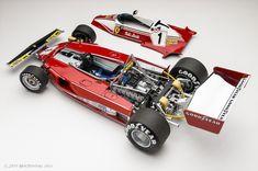 Ferrari 312 or Niki Lauda, 1976 (diecast) F1 Model Cars, Model Cars Kits, Miniature Auto, Carros Lamborghini, My Dream Car, Dream Cars, Custom Hot Wheels, Formula 1 Car, Model Hobbies