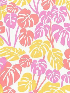 Deliciosa Designer Fabric by Aimée Wilder Fabric: Fine Belgian Linen/Cotton Blend Length*: 1 yard (91.4 cm) Width*: 54 inches (137 cm) Strike off: 25 × 25 inches (63.5 × 63.5 cm) Sample: 9 × 12 inches