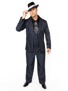 Gold Coast Gentleman Roaring 20/'s Hollywood Fancy Dress Halloween Adult Costume