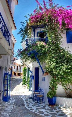 - Street in Alacati, Turkey