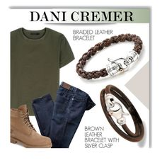 """""""DANI CREMER JEWELRY"""" by monmondefou ❤ liked on Polyvore featuring Calvin Klein Collection, Timberland, men's fashion, menswear, mensjewelry and danicremer"""
