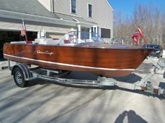 17 feet  1960 Chris-craft Runabout Runabout , Mahogany for sale in Kent, OH