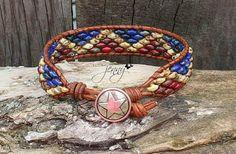 Wrap Bracelets, Leather Bracelets, Leather Jewelry, Beaded Bracelets, Beaded Leather Wraps, Jewelry Ideas, Unique Jewelry, Chan Luu, Macrame