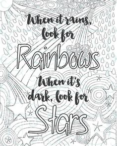 Free inspirational quote adult coloring book image from LiltKids ...