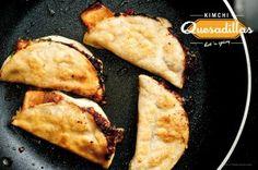 Kimchi Quesadilla | iamfoodblog.com