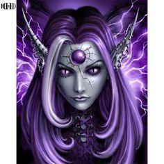 5D Diamond Painting Purple World of Warcraft Kit #painting #diamonds #fantasy #gifts #art #canvas #bonanzamarketplace #dazzlingdiamondpainting bonanza-marketplace.myshopify.com