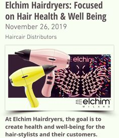#elchimsa Hair Health, Hair Dryer, Stylists, Wellness, Personal Care, Goals, Personal Hygiene, Hair Diffuser, Target