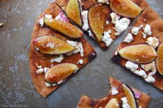 Flatbread Pizza with Figs, Goat Cheese, and Balsamic - Mark Bitman// oh my