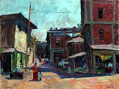 The Street Of Imphal