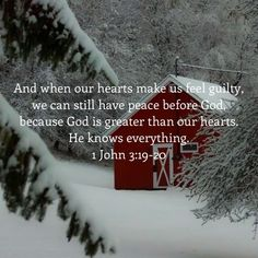 1 John That's how we know we belong to the way of truth. And when our hearts make us feel guilty, we can still have peace before God, because God is greater than our hearts. Prayer Verses, Prayer Quotes, Bible Verses Quotes, Bible Scriptures, Faith Quotes, Christian Life, Christian Quotes, 1 John, Quotes About God