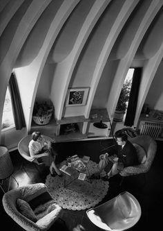 La Pedrera apartment, Barba Corsini, Barcelona, c. 1955 Francesc Català-Roca