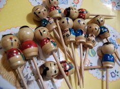 little wooden candle holder cake toppers by therunawaypancake