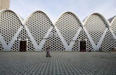 La mosquée Assounna dans le quartier Fida à Casablanca, construite dans les années 70.