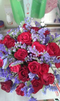Love red and blue.