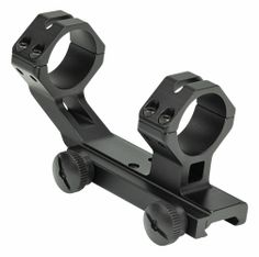 "Tactical style scope mount base and ring system for 30mm or 1"" optics tubes."