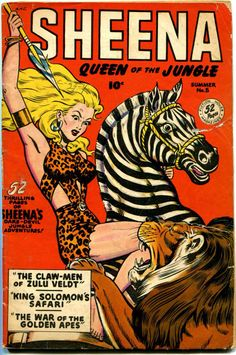 Sheena Queen of the Jungle by Will Eisner & Jerry Iger 1937