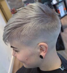 70 Short Shaggy, Prickly, Edgy Pixie cuts and hairstyles . - - 70 Short Shaggy, Prickly, Edgy Pixie Cuts and Hairstyles Undercut Pixie, Undercut Hairstyles, Hairstyles Haircuts, Cool Hairstyles, Shaved Hairstyles, Hairstyle Ideas, Short Pixie Haircuts, Short Hair Cuts, Short Hair Styles