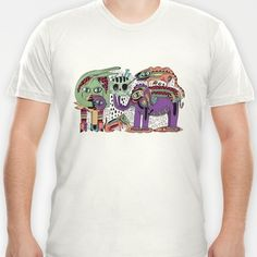 Zoo T-shirt by Cobrinha @society6