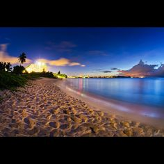Guam, not the best but a beatiful place. I lived there for 4 years and had my son there. Would love to take him to see his birthplace.