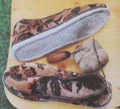 Rotenburger Tracht Schuhe der Frau #Rotenburg