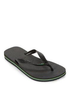 0ca4b6486b0af HAVAIANAS Brazil Accented Flip-Flops.  havaianas  shoes