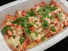 Betti von Happy Carb hat unlängst zwei grandiose Rezepte präsentiert: Einmal einenLow Carb Veggie-Wrap, einmal dieLow Carb Enchiladas. Beide stehen schon seit ihrem Posten auf meiner To Cook-List...