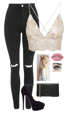 A fashion look from February 2018 featuring lace-up tops, high-waisted skinny jeans and suede shoes. Browse and shop related looks. Girls Fashion Clothes, Teen Fashion Outfits, Swag Outfits, Cute Casual Outfits, Girly Outfits, Look Fashion, Pretty Outfits, Beautiful Outfits, Stylish Outfits