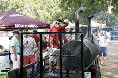 Tailgate with ULM Warhawks while in Monroe-West Monroe!