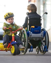 Child's Electric Wheelchair #MotorizedWheelchairsforKids >> Learn more at http://www.disabledbathrooms.org/walking-aids.html