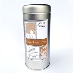Coffee Lovers' Tea | $16. The earthiness of organic pu-erh tea fuses with caramel for a sweetly decadent finish reminiscent of coffee. Available at: manykitchens.com