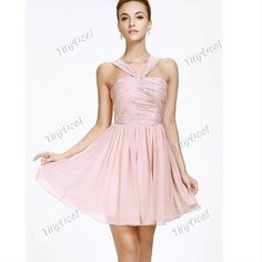 Naked pink evening dress sisters bridesmaid dresses short Bridesmaid Dress Bridesmaid Dress http://www.tinydeal.com/naked-pink-evening-short-bridesmaid-px24yxz-p-121824.html