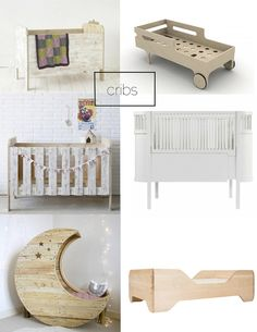 6 Cool Cribs & Beds