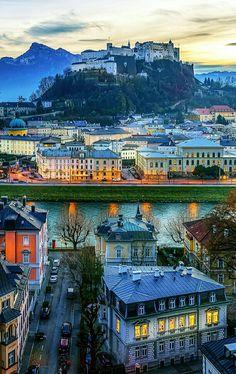 Salzburg Austria - one of my favorite cities Travel Log, Travel Tours, Travel Destinations, Places To Travel, Places To Visit, Alps, Vienna Austria, Austria Travel, Vacation Spots