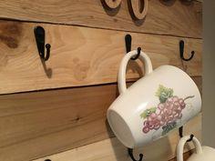 Coffee Signs, Wooden Cutouts, Farmhouse Decor, Coffee Cup Rack, Mug Rack, Mugs, Picture Mugs, Rack, Coffee Cups