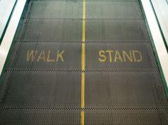 I'd Rather Run   Moving Walkway, Paris 2012  #DennisBurnett  www.vacuumelevators.com #PneumaricVaccum #Elevators