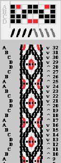 . Inkle Weaving, Inkle Loom, Card Weaving, Basket Weaving, Tablet Weaving Patterns, Iris Folding Pattern, Viking Dress, B 13, Braids With Weave