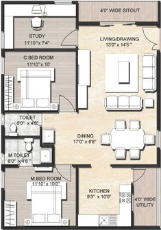 1000 sq ft house plans with car parking 2017 including popular plan pictures