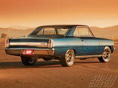 1967 Chevy Nova Corner Carver Rear Bumper